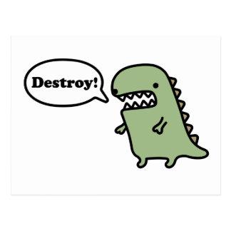 Destroy! Postcard