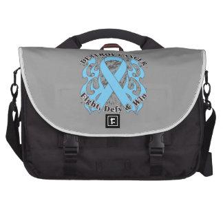Destroy Prostate Cancer Laptop Bags