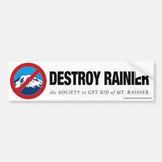 Destroy Rainier Bumper Sticker