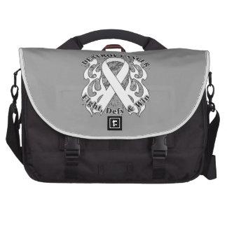 Destroy Retinoblastoma Cancer Laptop Bag