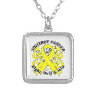 Destroy Sarcoma Cancer Necklace