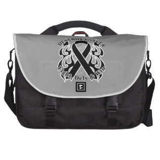 Destroy Skin Cancer Laptop Bag