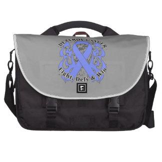 Destroy Stomach Cancer Laptop Bag