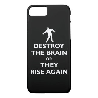 Destroy the Brain iPhone 8/7 Case