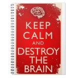 Destroy The Brain! Journal