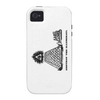 Destroy the Illuminati iPhone 4 Case