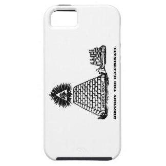 Destroy the Illuminati - iPhone 5 Case