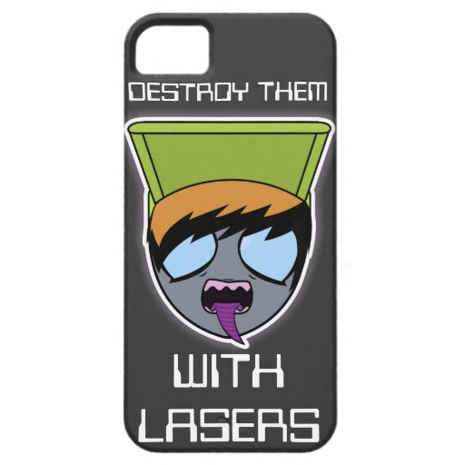 """""""Destroy them with Lasers"""" Alien Iphone case"""