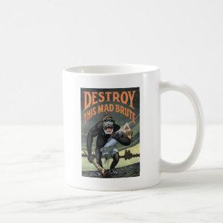 Destroy This Mad Brute Coffee Mug