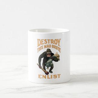 Destroy This Mad Brute - Enlist - WWI Coffee Mug
