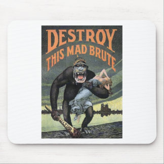 Destroy This Mad Brute Mouse Pads