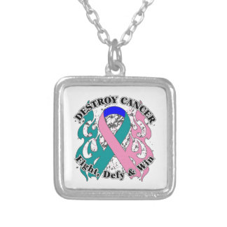 Destroy Thyroid Cancer Personalized Necklace