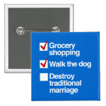 DESTROY TRADITIONAL MARRIAGE BUTTONS
