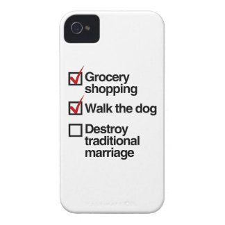 DESTROY TRADITIONAL MARRIAGE.png iPhone 4 Cases