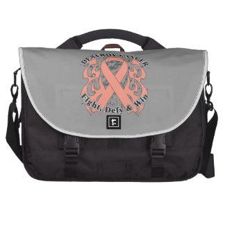 Destroy Uterine Cancer Laptop Computer Bag