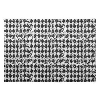 Destroyed Abstract Diamonds Placemat