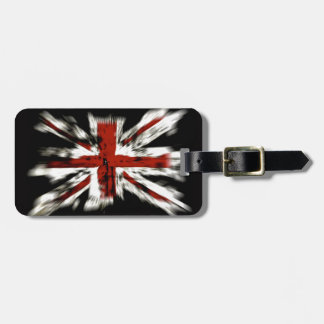 Destroyed British Flag Tag For Luggage