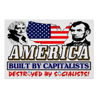 Destroyed By Socialists! Posters