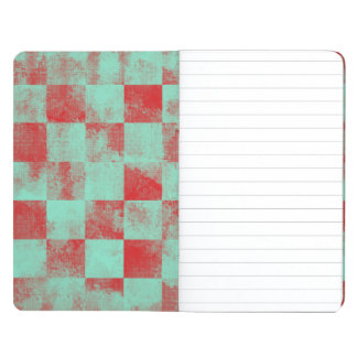 Destroyed Checkered Candy Journal