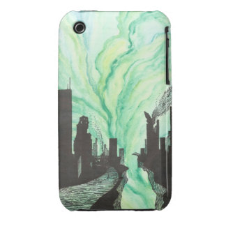 Destroyed City Skyline iPhone 3 Cover
