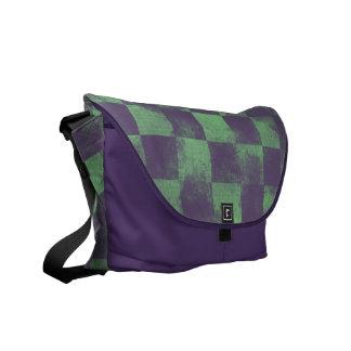 Destroyed Joker Checkered Commuter Bags