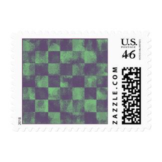 Destroyed Joker Checkered Stamp