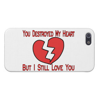 Destroyed My Heart Valentine iPhone 5 Covers