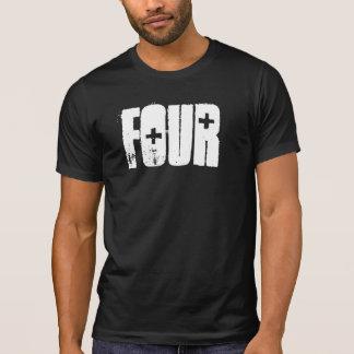 DESTROYED T - FOUR LOGO T-Shirt