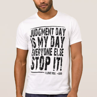 Destroyed T-Shirt (Judgment Day)