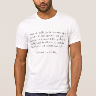 Destroyed T-Shirt men and classic epigram