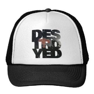 Destroyed Trucker Hat