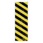 Destroyed Warning Bookmark Business Card