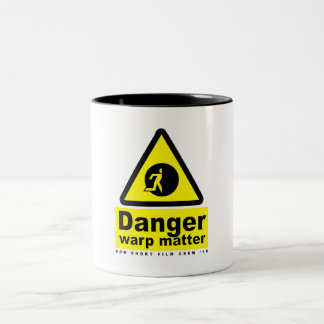 Destroyer of Worlds Mug: Warp Matter Two-Tone Coffee Mug