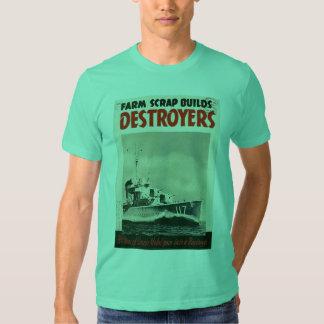Destroyers World War 3 Tee Shirt