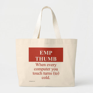 Destroying Computers With an Electromagnetic Pulse Large Tote Bag