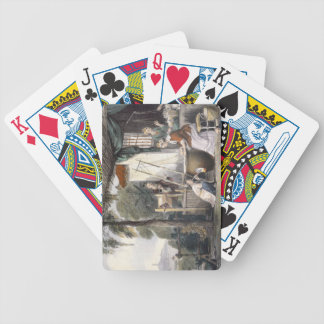 Destroying the Chrysalids and Reeling the Cocoons, Playing Cards