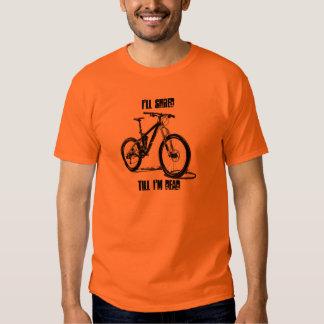 Destrozaré hasta que soy camiseta Biking de la Remera