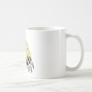 Destrozo de ataque de la garra de oso taza de café