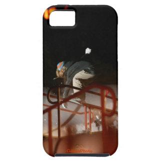 Destrozo del snowboarder de la mujer iPhone 5 cárcasas