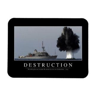 Destrucción: Cita inspirada 1 Iman Flexible