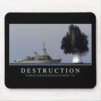 Destrucción: Cita inspirada 1 Tapete De Ratón