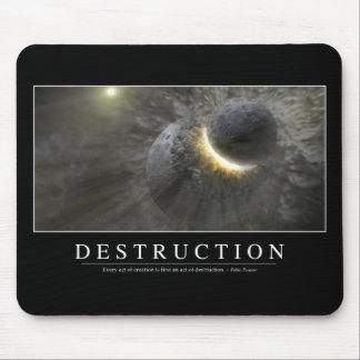 Destrucción: Cita inspirada 2 Tapete De Ratones