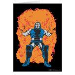 Destrucción de Darkseid Tarjeta De Felicitación