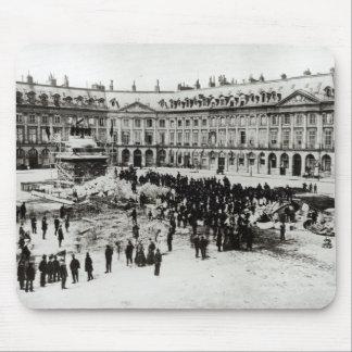 Destrucción de la columna de Vendome Tapete De Ratones