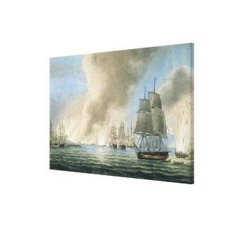 Destrucción de la flota turca, el 19 de febrero, 1 impresión en lienzo