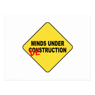 Destrucción de la mente tarjetas postales
