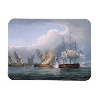 Destrucción de las fragatas francesas L'Arianne y  Imanes Rectangulares