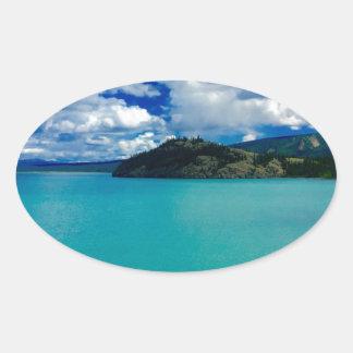 Destruction Bay, Yukon Oval Sticker