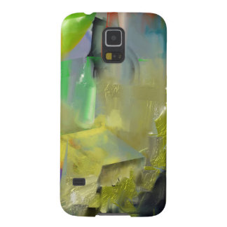 Destruction of Gold Abstract Case For Galaxy S5