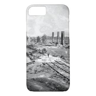 Destruction of Hood's_War Image iPhone 8/7 Case